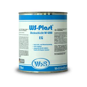 Dažai metalui WS Plast 4200